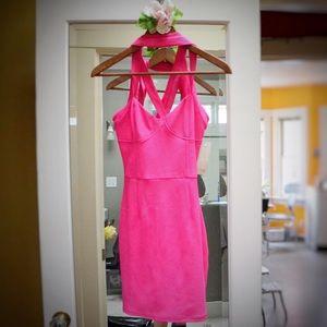 Tobi Dresses & Skirts - Sexy Cross Laced Mini Dress