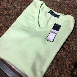 """Polo by Ralph Lauren Other - 🆕Polo Spring Mint  """"Classics"""" Sweater, NWT, $165!"""