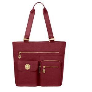 Baggallini Handbags - Baggalini Tulum Tote in Scarlet