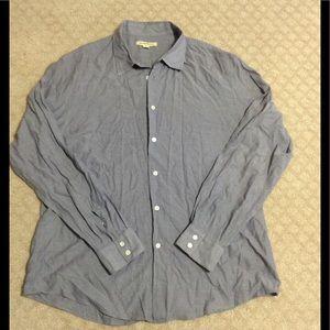 John Varvatos Other - John Varvatos blue button shirt
