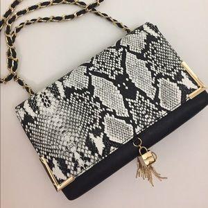 bebe Handbags - Snake Print Handbag
