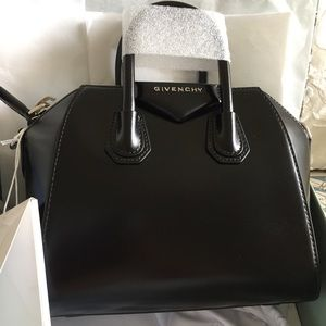 GIVENCY MINI SMOOTH OR GRAINED ANTIGONA