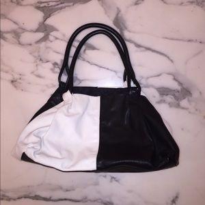 Francesco Biasia Handbags - Black and white vintage purse