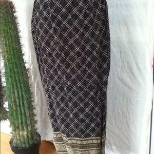 Valerie Stevens Dresses & Skirts - Vintage wrap around skirt