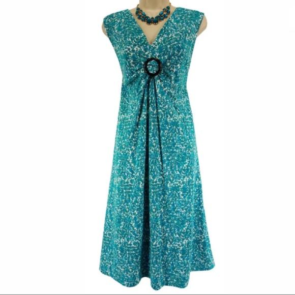 Liz Claiborne Dresses Xl 1x Pretty Summer Dress Plus Size Poshmark