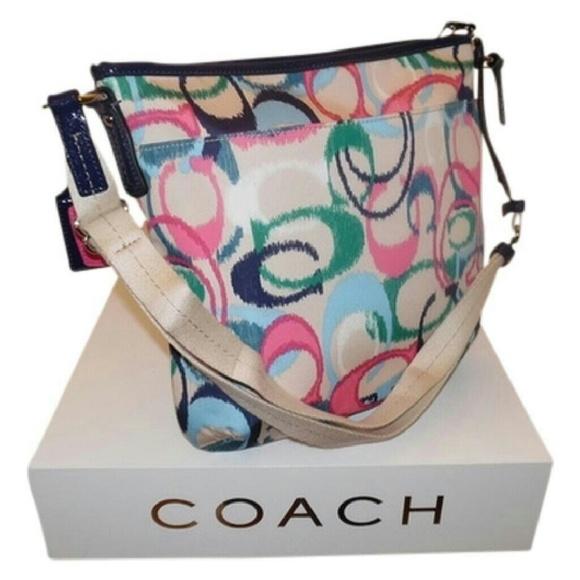 Coach Bags Ikat Print Duffle Shoulder Bag Poshmark