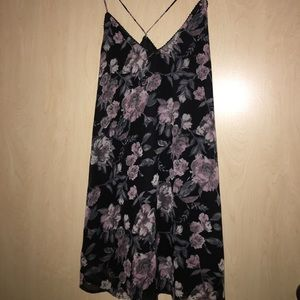nectar Dresses & Skirts - Floral dress  w/ cardigan