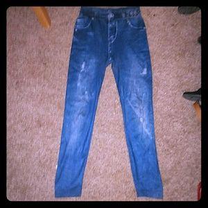 "Pants - New! Jean Leggings / ""Jeggings"""