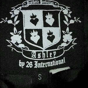 26 International Jackets & Coats - *Black Trench Coat*