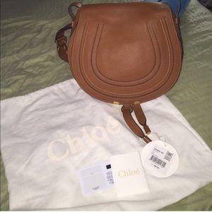 Authentic Chloe Medium Marcie Satchel bag