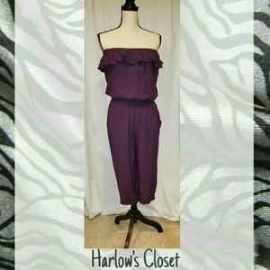Poetry Pants - NWT- strapless romper