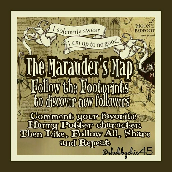 Accessories - Marauder's FG: Come bsck , follow all and share!