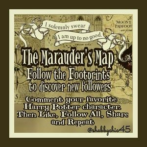 Marauder's FG: Come bsck , follow all and share!