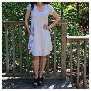 V neck swing dress CLEARANCE