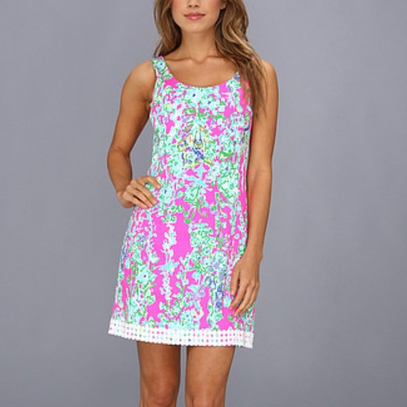 931e369e482c02 Lilly Pulitzer Dresses & Skirts - Lilly Pulitzer Pop Pink Southern Charm  Eaton Dress