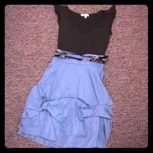 Be Bop Ruffle Skirted Dress