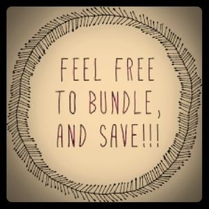 Bundle, it will save you money!