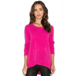 Diane von Furstenberg Sweaters - DVF Fuschia 100% Cashmere Pullover Sweater