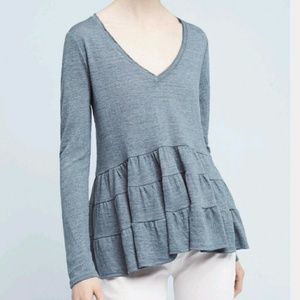 Anthropologie Tops - Anthro Deletta Thea Ruffled Top