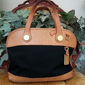 191 Unlimited Handbags - Dooney black canvas bag