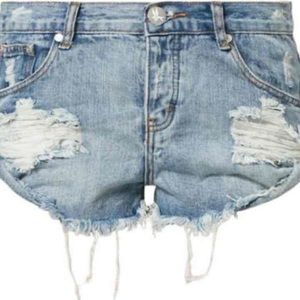 One Teaspoon Denim Shorts Bandits 26