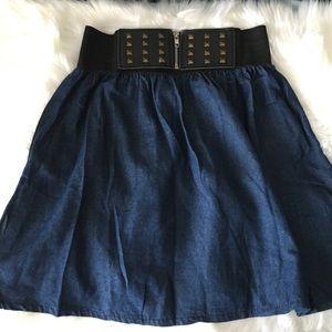 Dresses & Skirts - ☀️ High waisted denim skirt