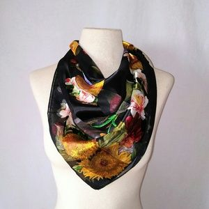 2for1 SILKY Square Scarf