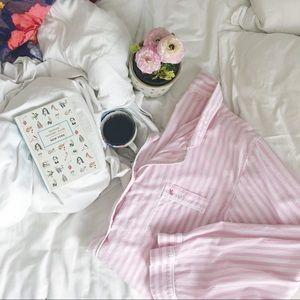 Victoria's Secret Tops - Victoria's Secret Striped Sleep Shirt