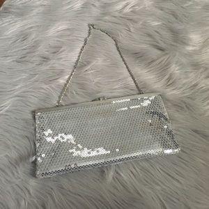 Aldo Handbags - Also silver purse