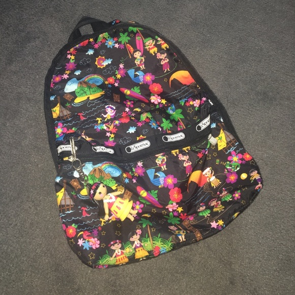 dce0a347210 LeSportsac Handbags - Disney its a small world lesportsac backpack