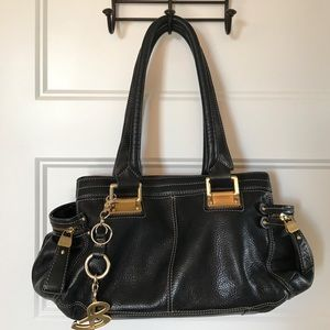 b. makowsky Handbags - B. B Makowsky black leather purse handbag w/ FOB