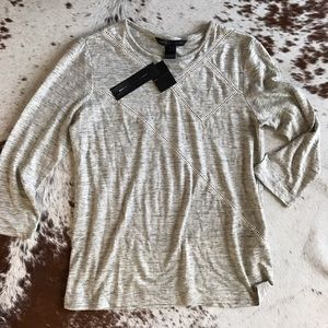 Marc by Marc Jacobs Tops - MBMJ grey long sleeve knit S