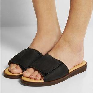 Maison Martin Margiela Shoes - MM6 Maison Martin Marglela black slides size 38