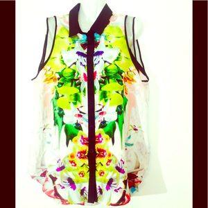 Prabal Gurung for Target Tops - Pranav Gurung For Target Spring Sleeveless Blouse