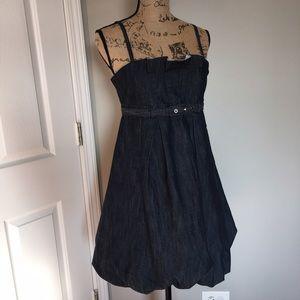 Celebrity Pink Dresses & Skirts - Celebrity Pink.   Blue Jean Dress