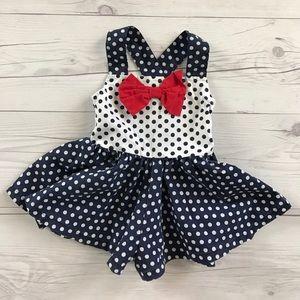 Other - ❤️HP❤️ Polka dot dress romper
