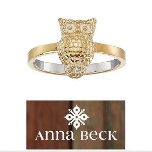 Anna Beck Jewelry - Anna Beck•18k Gold Vermeil Owl Ring