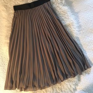 H&M Pleated Full Skirt