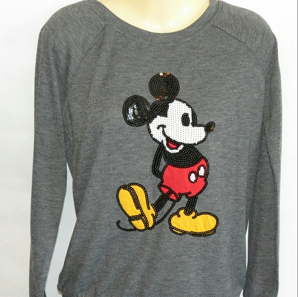 0d23c7487 Disney Tops | Beautiful Mickey Mouse Sequin Top | Poshmark