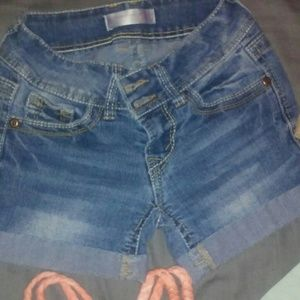 Size 1 jean shorts