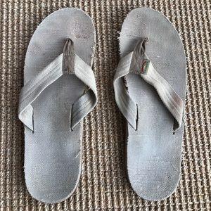 Rainbow Other - Men's hemp rainbow sandals flip flops size 12