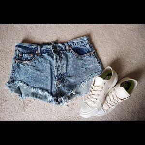 Forever 21 Pants - Forever 21 Highwaisted Jean Shorts