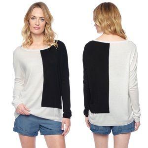 Splendid Tops - NWT Splendid Cashmere Blend Colorblock Sweater