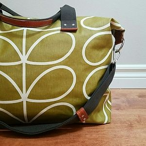 Orla Kiely Handbags - FLASH SALE Weekend Stem Travel Bag, Olive