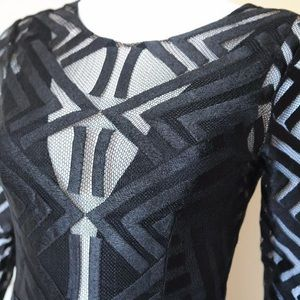 9c15dd90c242 BCBGMaxAzria Dresses - BCBG MAX AZRIA Veira Lace Gown Evening Illusion
