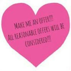 Love reasonable Offers