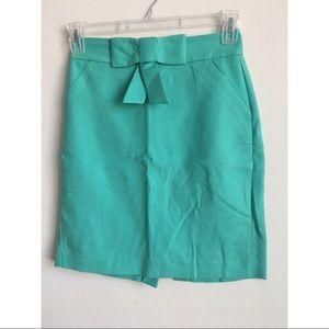 Aqua Bow Skirt