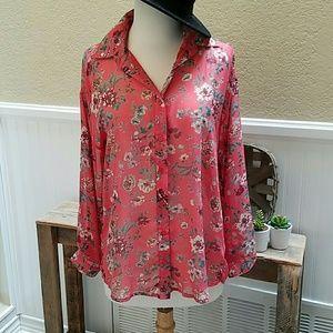 Pleione Tops - Pleione long sleeve blouse shirt