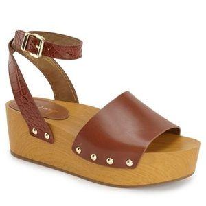 Sam Edelman Shoes - Sam Edelman Flatform Platforms Brynn Saddle Sandal