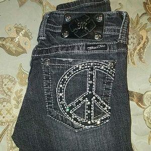 Miss Me Black Jean's size 25